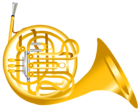French_Horn_Transparent_PNG_Clipart